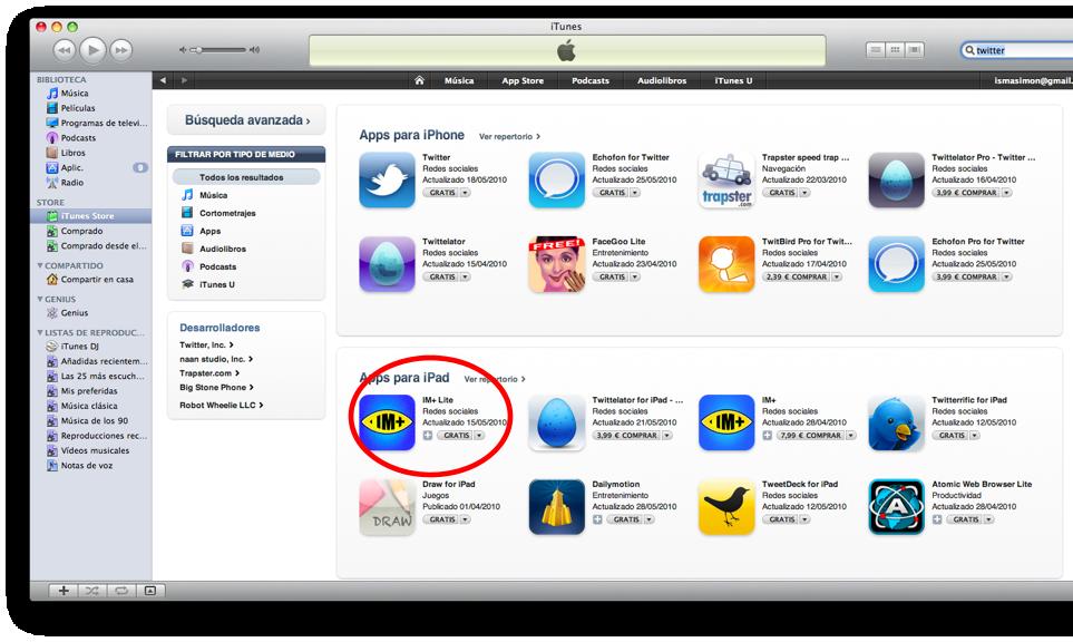 Manual iPad] Como Descargar e Instalar aplicaciones en el