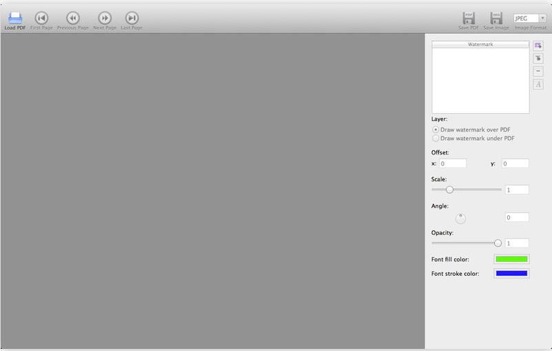 how to watermark a pdf mac