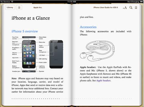 Apple publica un manual gratuito de ios 6 para los usuarios de iphone