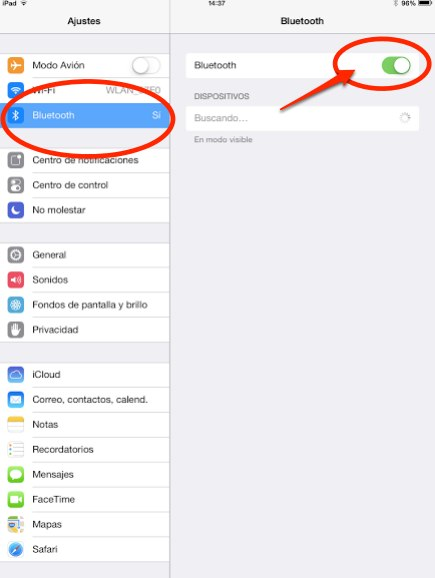 compartir conexion mac con ipad 2
