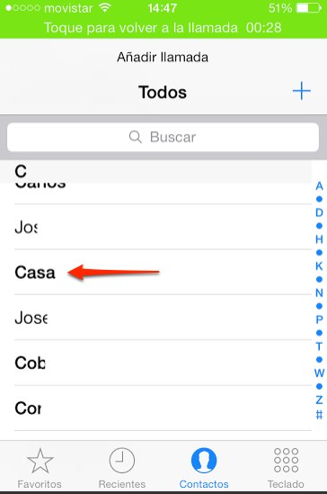 hacer conferencia con iphone 2